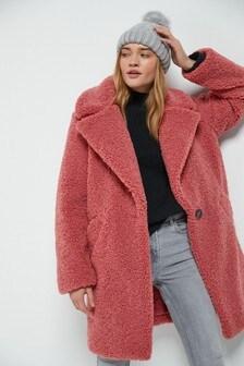 Comfort Teddy Borg Coat