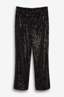 Sparkle Wide Leg Pants