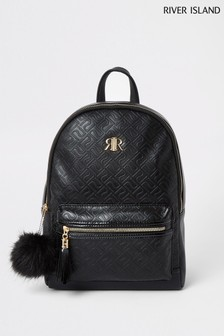 RI Black Mono Backpack