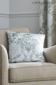 Laura Ashley Sage Parterre Printed Cushion