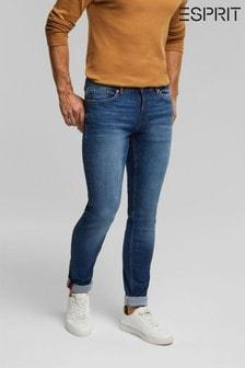 Esprit Blue Mens Skinny Denim Jeans