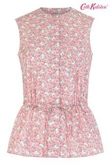 Cath Kidston® Pink Jumping Bunnies Sleeveless Shirt
