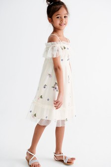 Off The Shoulder Dress (3-16yrs)