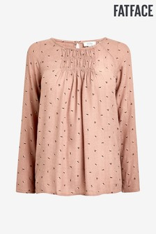 FatFace Pink Rochelle Scattered Star Blouse