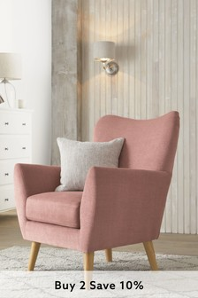 Wilson Accent Chair With Light Legs