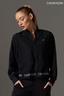 Calvin Klein Black Full Zip Bomber Jacket
