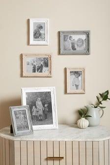 Set of 6 Pink Amelie Photo Frames