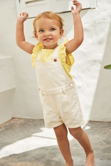 Shortie Dungarees (3mths-7yrs)