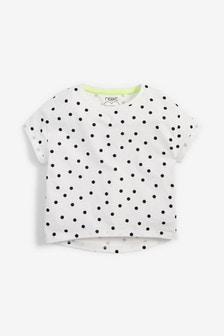 Organic Cotton Boxy Cropped T-Shirt (3-16yrs)