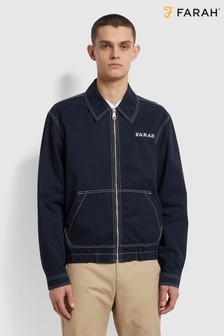 Farah Blue Fairbanks Blouson