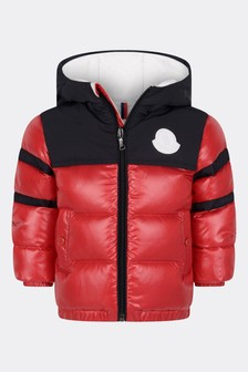 Red Down Padded Elm Jacket