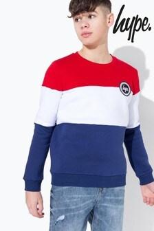 Hype. Tri Colourblock Sweatshirt