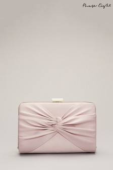 Phase Eight Pink Kendal Clutch Bag
