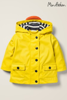 Boden Yellow Duckling Coat