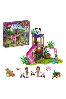 LEGO 41422 Friends Panda Jungle Tree House Rescue Play Set