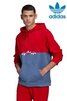 adidas Originals Red Slice Pullover Hoodie