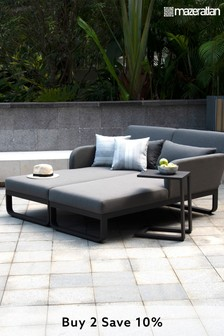 Unity Double Sunlounger By Maze Rattan