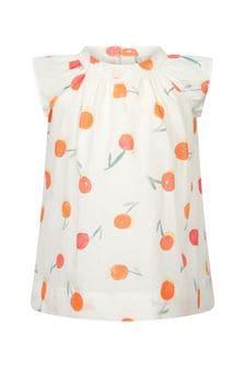 Bonpoint Baby Girls Cream Cotton Dress