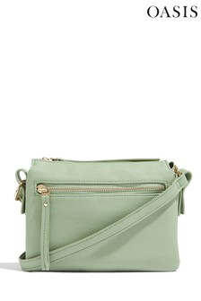 Oasis Green Multi Compartment Bag