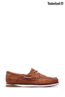 Timberland® Brown Atlantis Boat Shoes