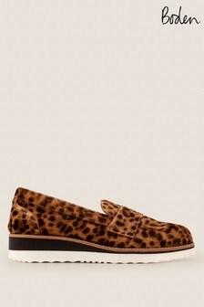 Boden Animal Elizabeth Platform Loafers