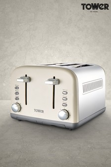 4 Slot Toaster by Tower