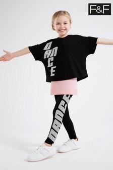 F&F Black Dance Set