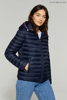 Tommy Hilfiger Blue Essential Lightweight Packable Down Jacket