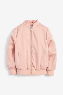 Satin Bomber Jacket (3-16yrs)