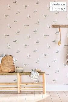 Sanderson Home Shore Birds Wallpaper