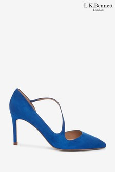 L.K.Bennett Blue Heather Victoria Shoes