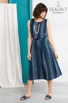 Seasalt Blue Sandbank Skirt