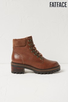 FatFace Brown Newbury Hiker Boots