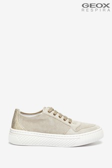 Geox Womens Licena Gold/Taupe Shoes