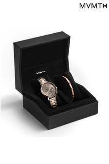 MVMT Ladies Nova Watch And Bangle Gift Set