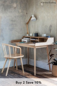 Ashwicke Desk with Storage in Ash By Garden Trading