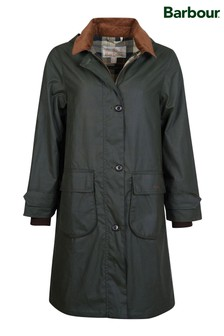 Barbour® Heritage Longline Wax Kudzu Jacket