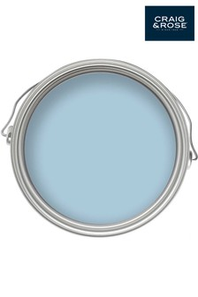 Chalky Emulsion Fresco Blue 50ml Paint Tester Pot by Craig & Rose