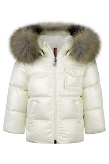 Baby Ivory Down Padded K2 Jacket