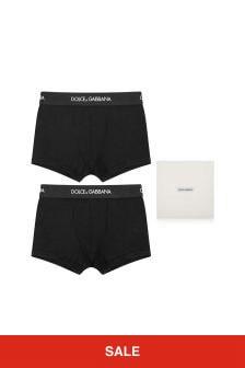 Dolce & Gabbana Kids Boys Boxer Shorts Two Pack