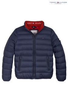 Tommy Hilfiger Blue Lightweight Down Jacket
