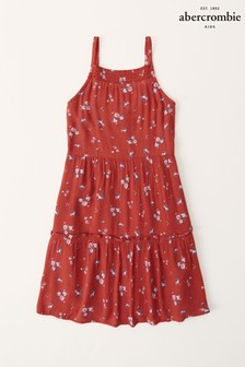 Abercrombie & Fitch Tiered Babydoll Dress
