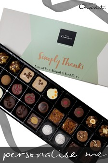 Personalised Simply Thanks Everything Sleekster by Hotel Chocolat