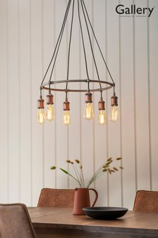 Halsy 6 Pendant Light by Gallery Direct