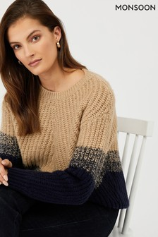 Monsoon Talia Chevron Jumper