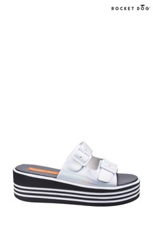 Rocket Dog White Zanter Spree Platform Sandals