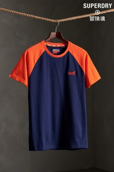 Superdry Organic Cotton Baseball T-Shirt