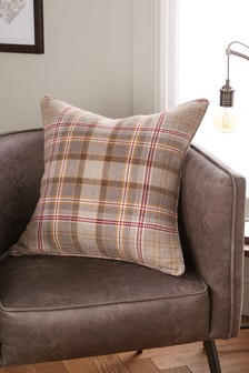 Hartley Check Cushion