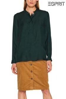 Esprit Green Tunic Blouse