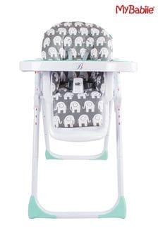 Billie Faiers Elephants Premium Highchair by My Babiie